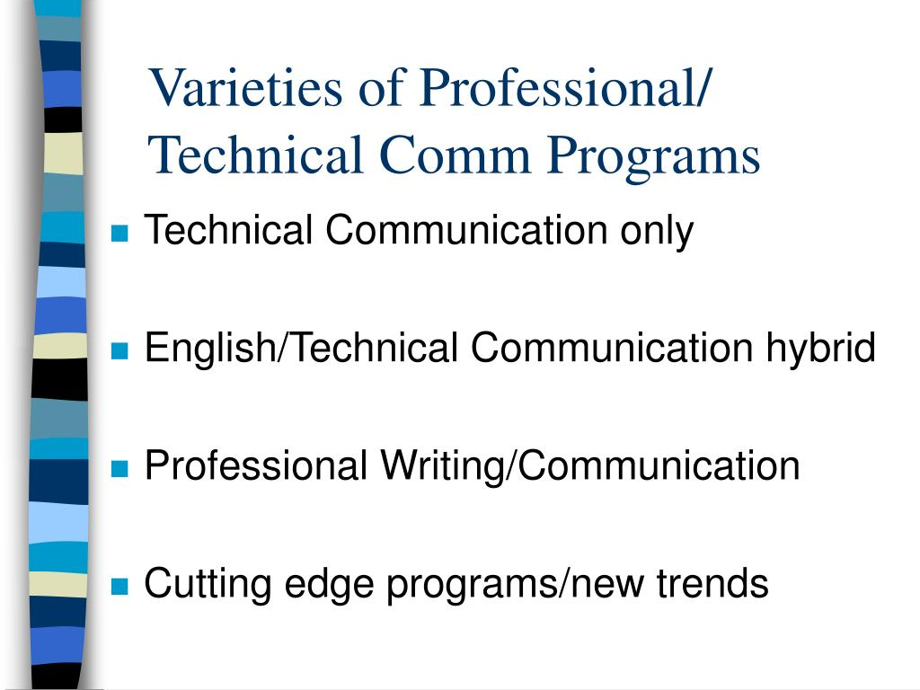 Varieties of Professional/