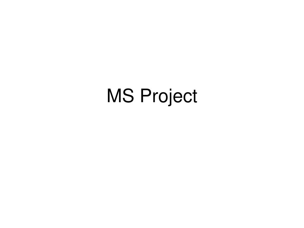 ms project l.