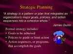 strategic planning13