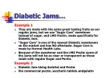 diabetic jams