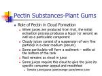 pectin substances plant gums44