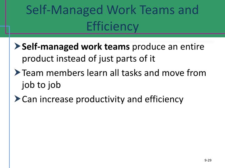 self managed team No exclusive self-managed teams books that i know of there are books (and blogs) that cover this topic as part of a larger whole, however.