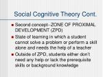 social cognitive theory cont1