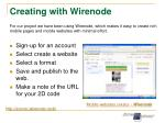 creating with wirenode