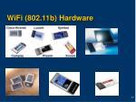 wifi 802 11b hardware