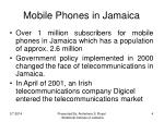 mobile phones in jamaica
