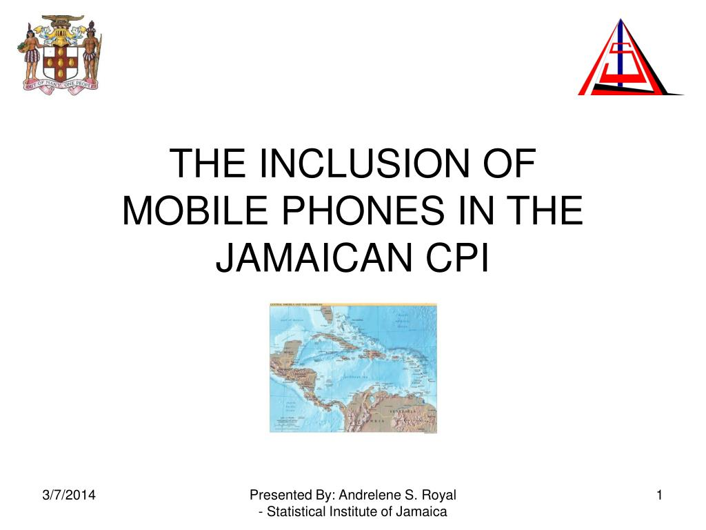 the inclusion of mobile phones in the jamaican cpi l.