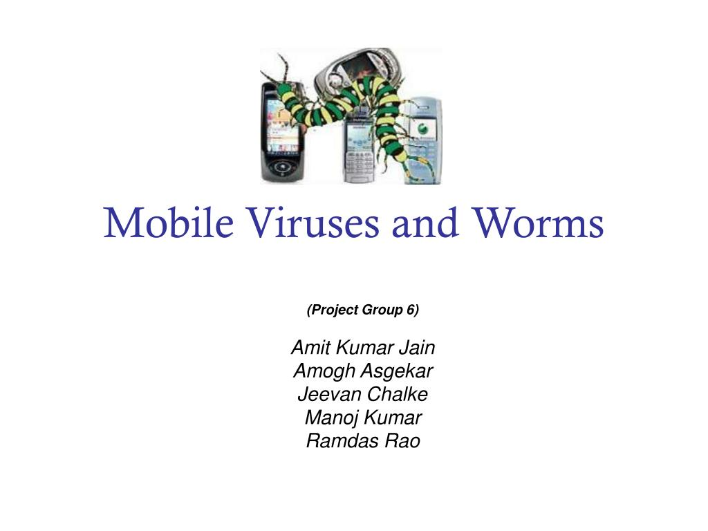 mobile viruses and worms l.