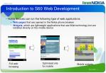 introduction to s60 web development