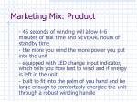 marketing mix product11