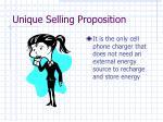 unique selling proposition21