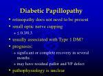 diabetic papillopathy46