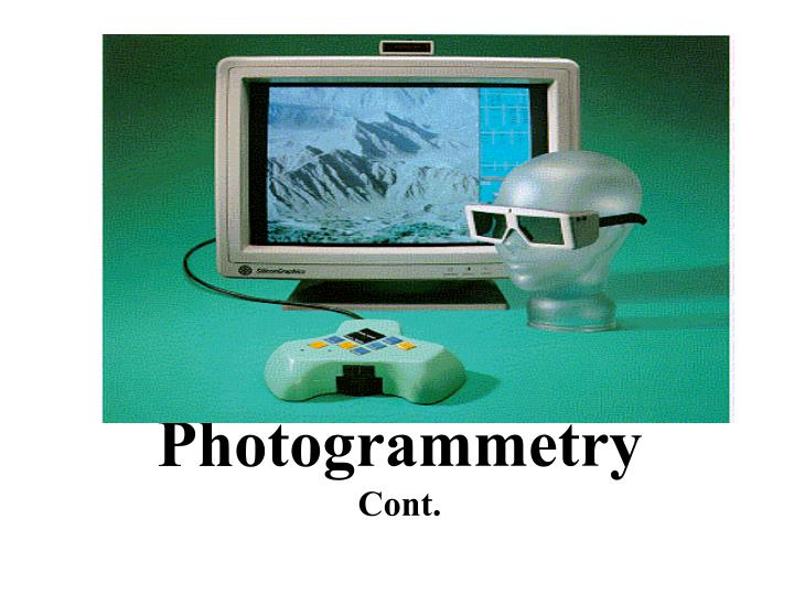 photogrammetry cont n.