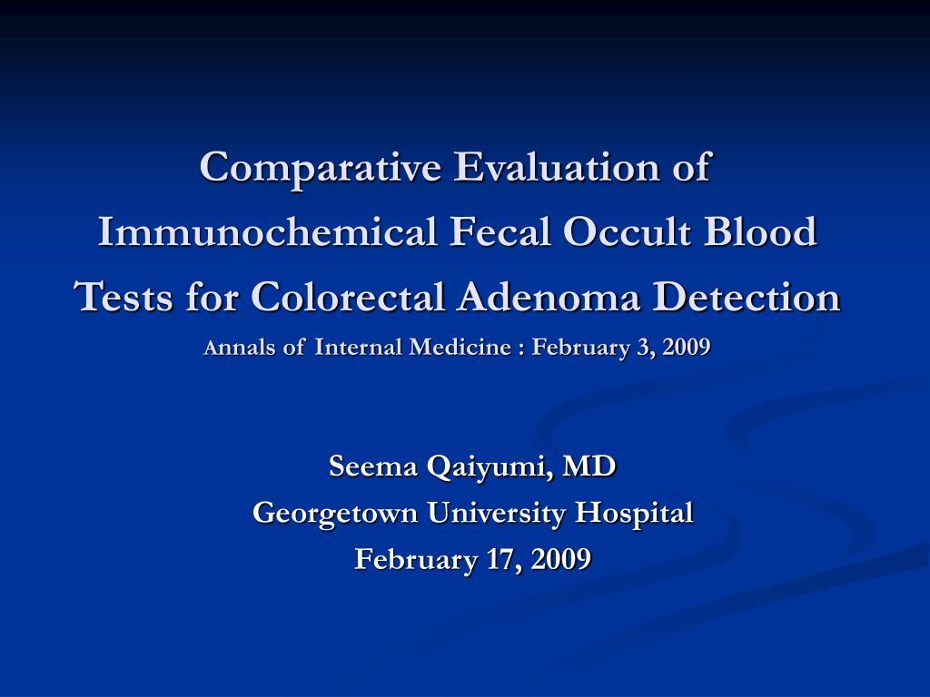 seema qaiyumi md georgetown university hospital february 17 2009 l.