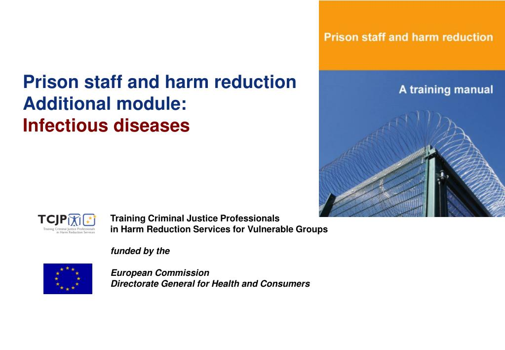 Prison staff and harm reduction