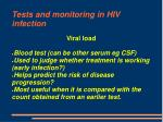tests and monitoring in hiv infection10