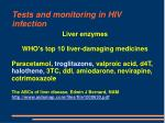 tests and monitoring in hiv infection56