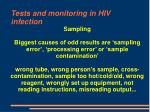 tests and monitoring in hiv infection70