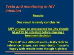 tests and monitoring in hiv infection71