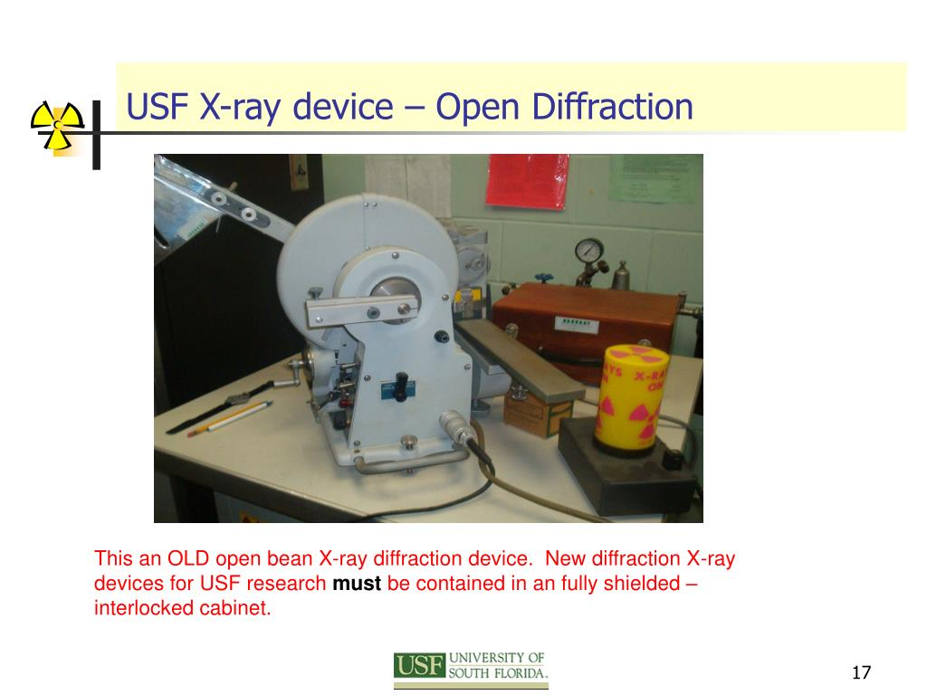 USF X-ray device – Open Diffraction