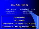 the 2ms cdf n