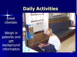 daily activities19