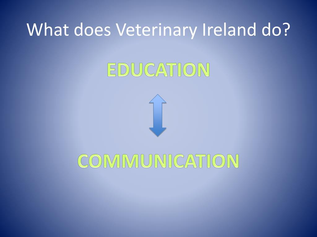 What does Veterinary Ireland do?