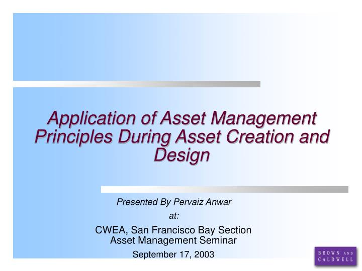 application of category management principles Subject: management principles & application category: reference,  communicating pulls all of the other principles of management together.