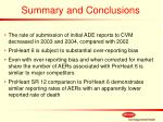 summary and conclusions27