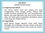 sub unit 2 konsep dasar musik