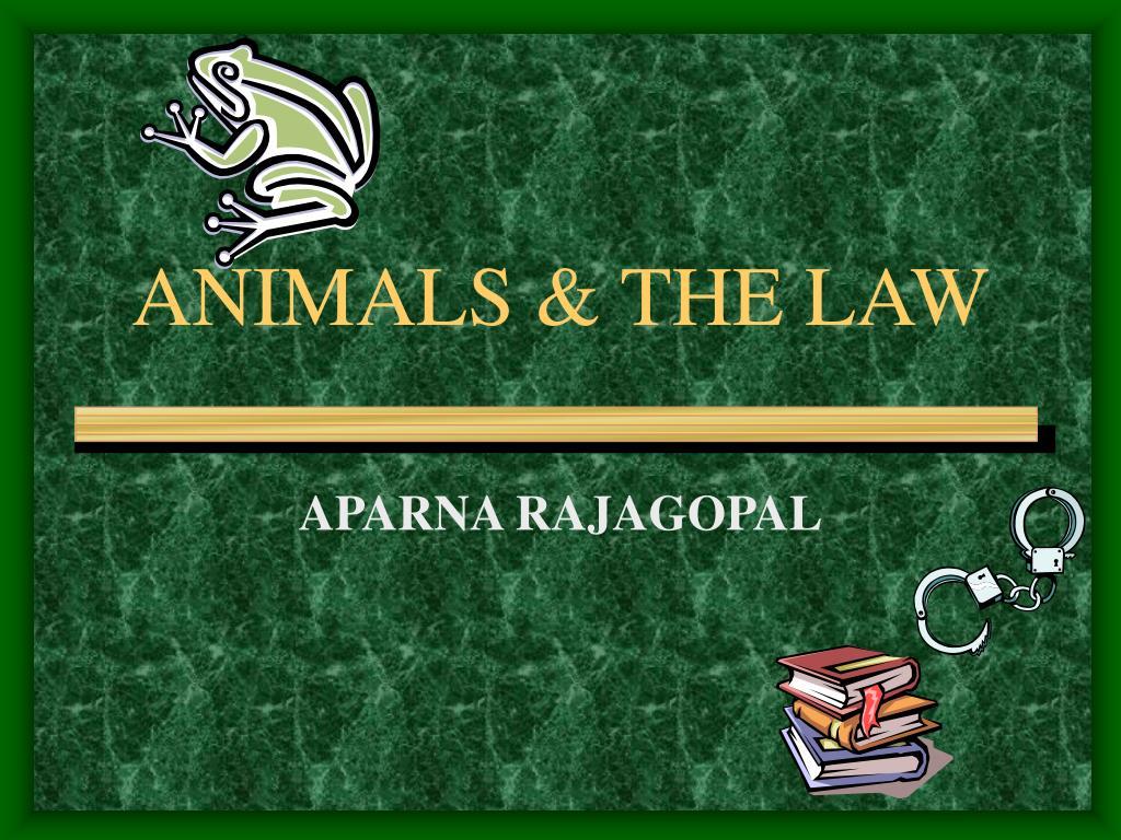 animals the law l.