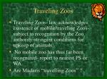 traveling zoos