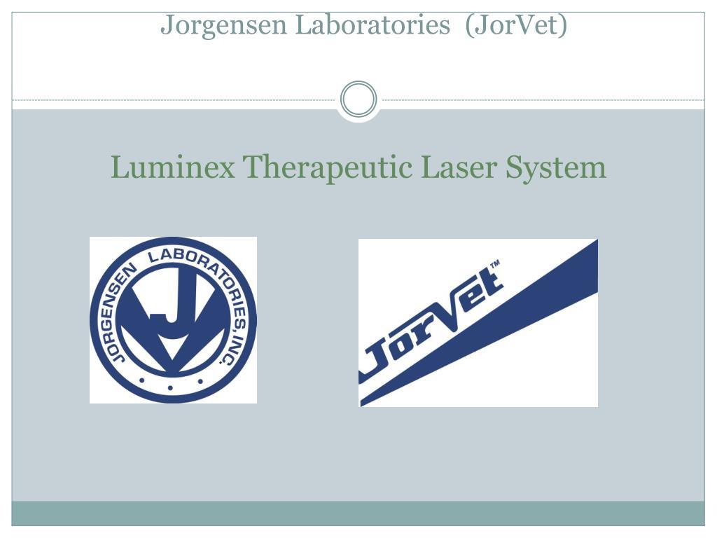 jorgensen laboratories jorvet l.