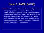case 3 tamu 84736