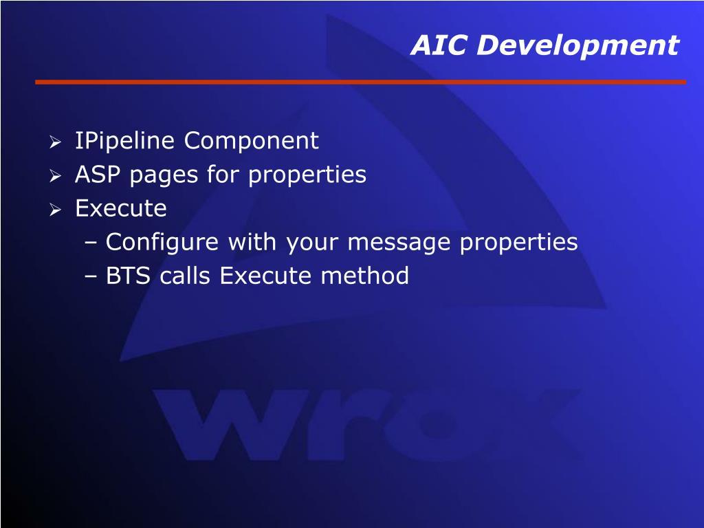 AIC Development