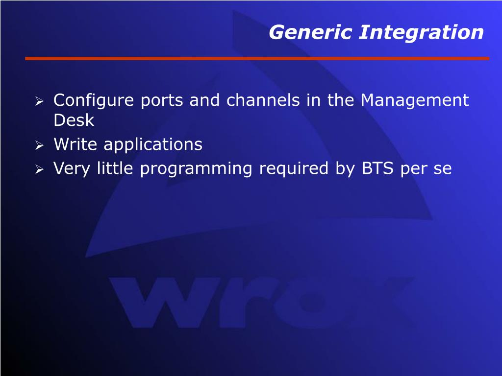 Generic Integration