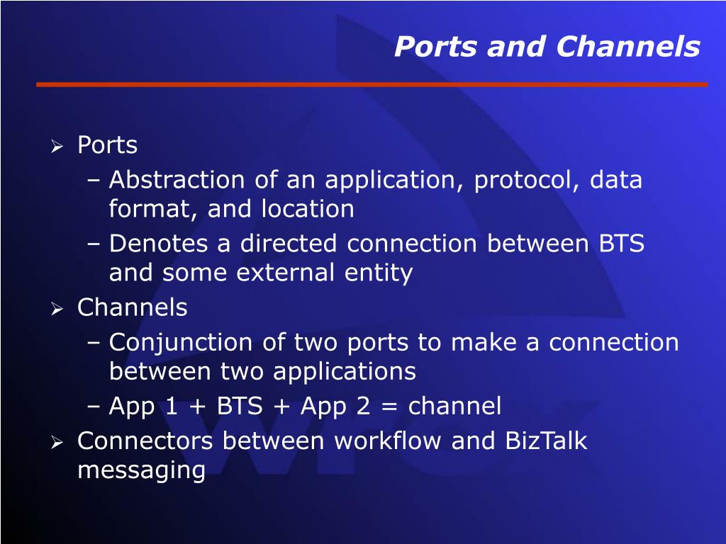 Ports and Channels