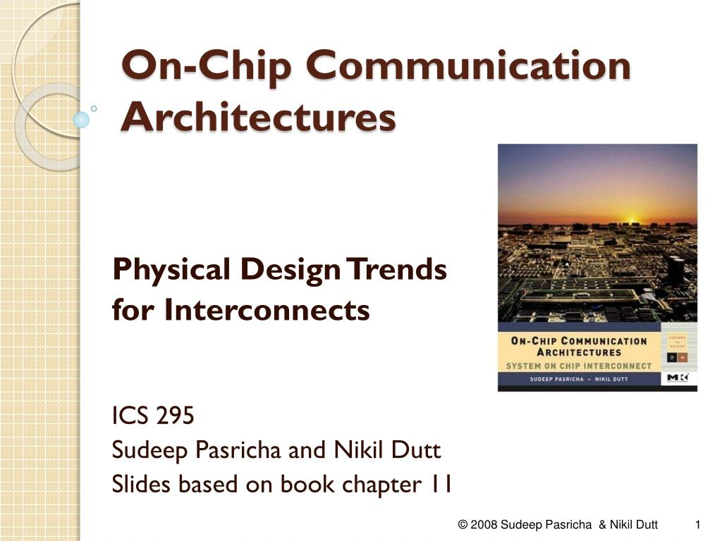 on chip communication architectures l.