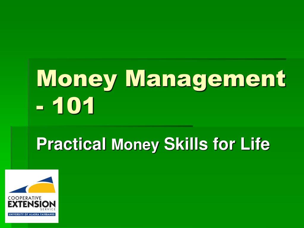 money management 101 l.
