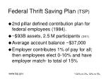 federal thrift saving plan tsp