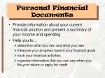 personal financial documents10