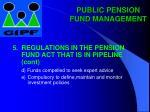 public pension fund management15