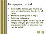 foreign jobs contd6