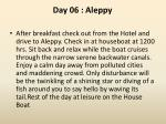 day 06 aleppy