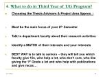4 what to do in third year of ug program21