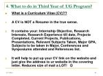 4 what to do in third year of ug program25