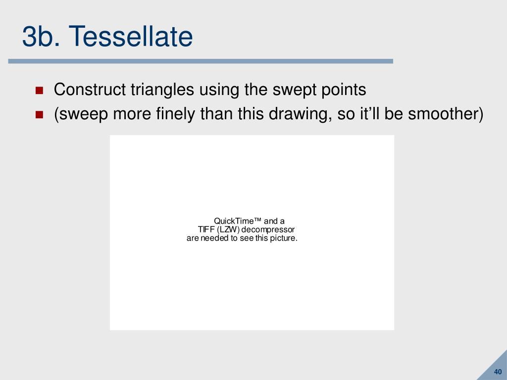 3b. Tessellate