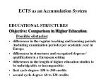 ects as an accumulation system9
