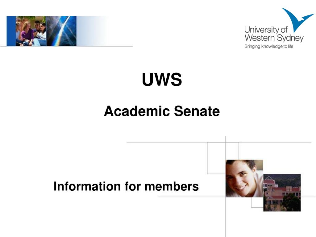uws academic senate l.