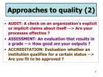 approaches to quality 2